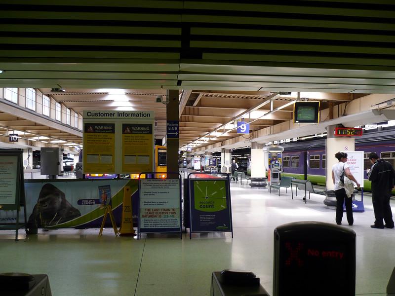 Eustin Station where JK Rowling envisioned 'Platform 9 3/4'