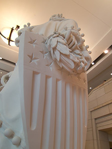 Mock-up of Statue that Sits on Top of United States Capital Building