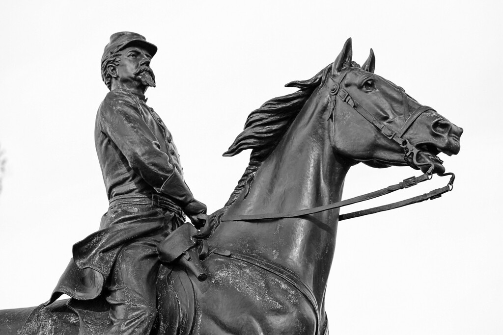 Major General Philip Kearny. He fought in the Mexican-American War and Died after the 2nd Battle of Bull Run during the Civil War