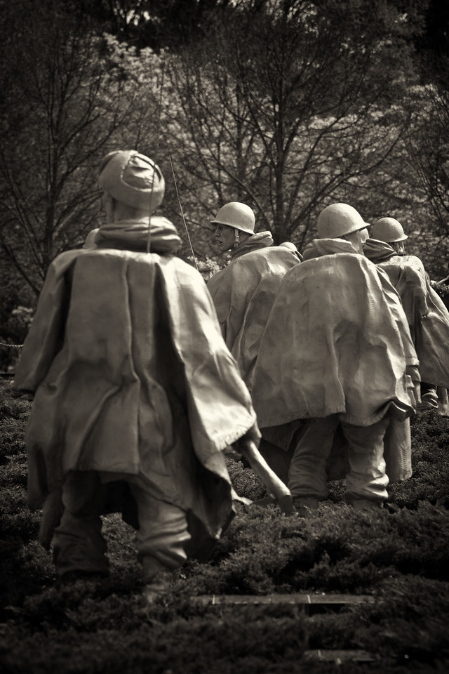 Korean War Memorial, Washington DC.