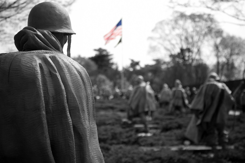Korean War Memorial, Washington DC.