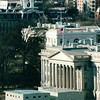 Supreme Court in Foreground with White House in Background - Viewed From Post Office Tower - Washington, DC  1-25-01