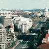 View From Top of Post Office Tower - Washington, DC  1-25-01