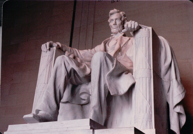 Lincoln Memorial - Washington, DC - 10/13/85