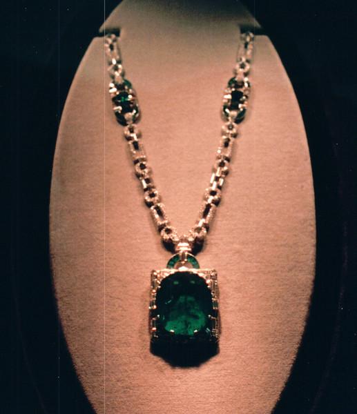 Gem Stone Necklace - National Museum of Natural History - Washington, DC  3-29-92