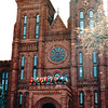 Smithsonian Institutiion Building - Washington, DC  3-29-92<br /> Completed in 1855 and designed by James Renwick, Jr.