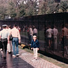 Benjamin at Vietnam Memorial - Washington, DC - 10/13/85