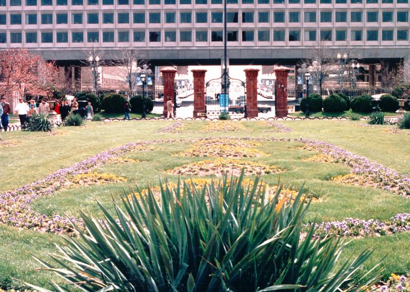 Enid A. Haupt Garden - Smithsonian Institution - Washington, DC  3-29-92