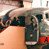 Ben Entering Into the Cockpit of the Plane - National Air and Space Museum - Washington, DC  3-29-92