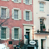 Randal Waving From House Where Lincoln Died - Washington, DC  1-25-01