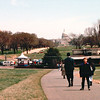 Ben in Another View From Washington Monument to The Capitol - Washington, DC  3-29-92