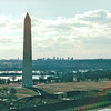 Washington Monument - Viewed From Post Office Tower - Washington, DC  1-25-01