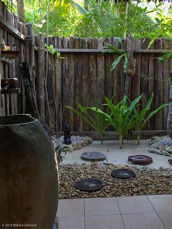 Indonesian style bath or mandi