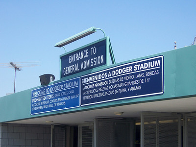 Welcome to Dodger Stadium!
