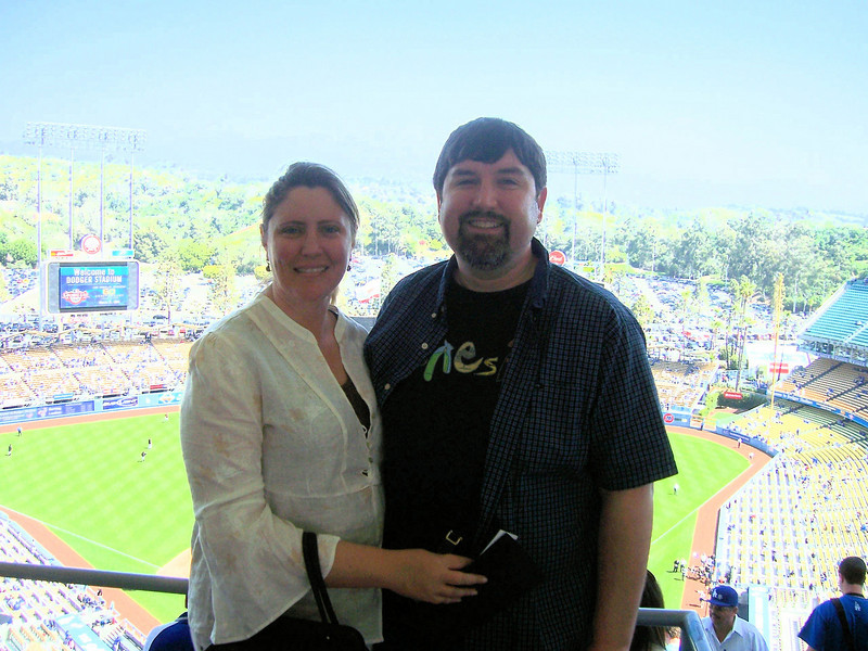 Holly and George at the ballpark!