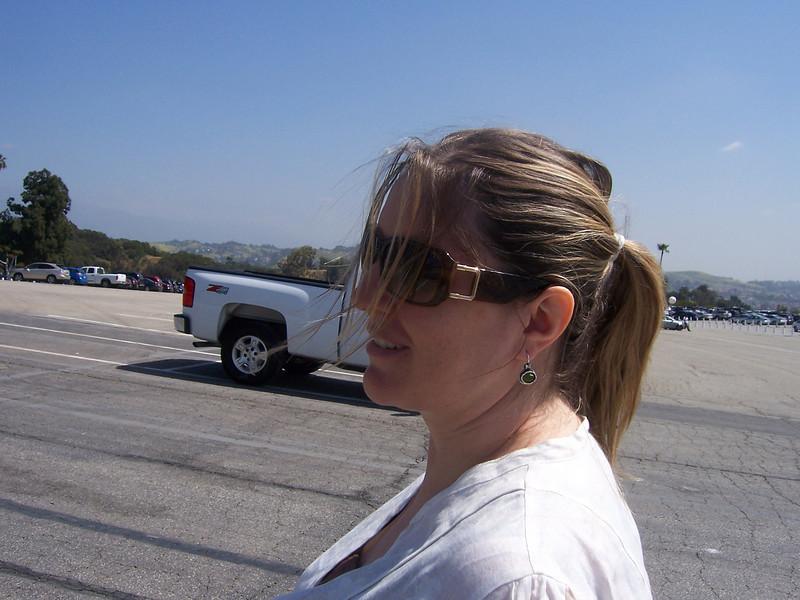 A very L.A. Holly.
