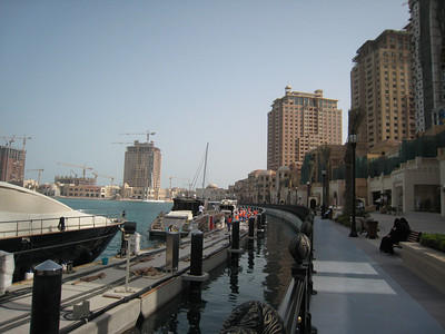 On The Pearl in Doha.