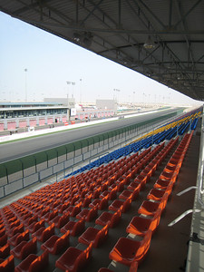 The grandstand at Losail.