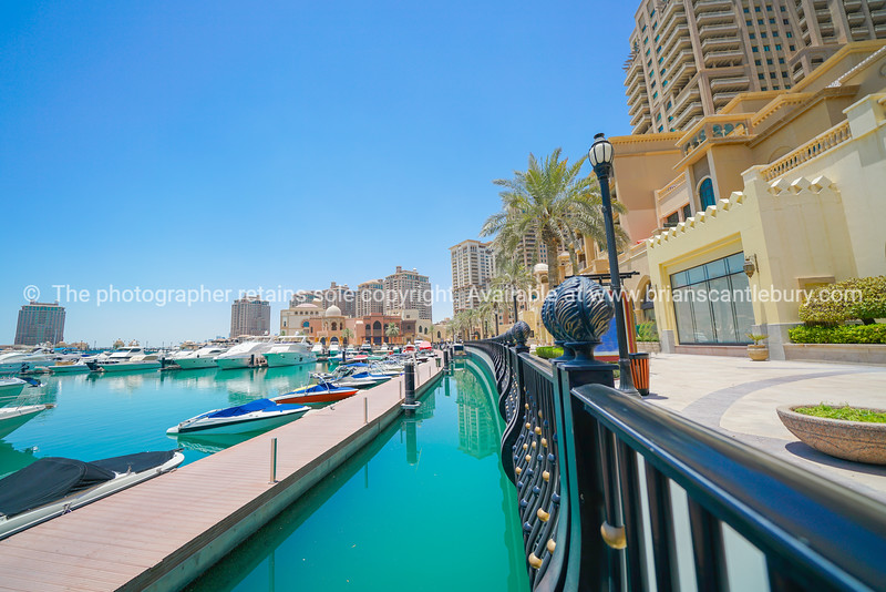 New up-market residential area l with its stylish residential buildings fronting promenade and marina.