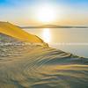 Desert at sunrise.
