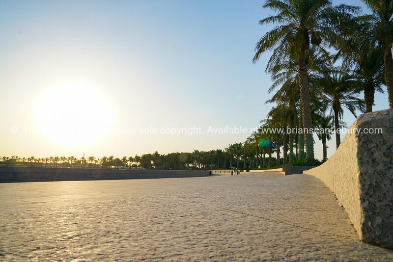 The Corniche, long palm-fringed stone walkway