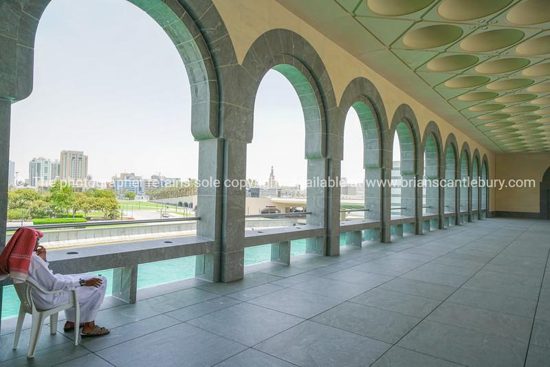 Museum of Islamic Arts interior design and architecture.
