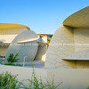 National Museum of Qatar unusual but striking design form is inspired by desert rose crystal