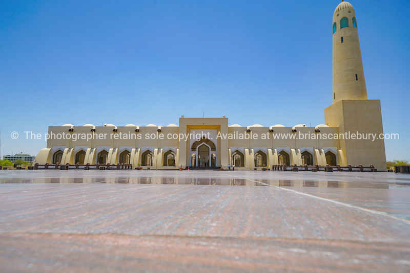 The Grand Mosque Doha.