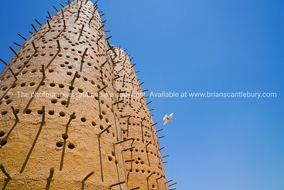 Famous earthen pigeon towers in Katara Cultural Village