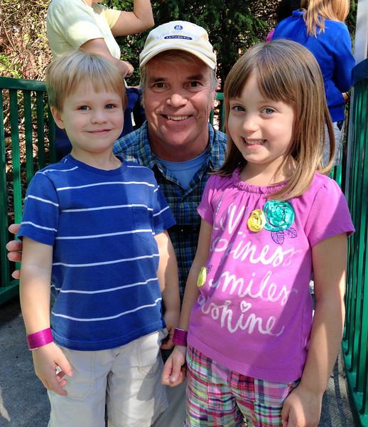 Evan, Pappy & Lizzie