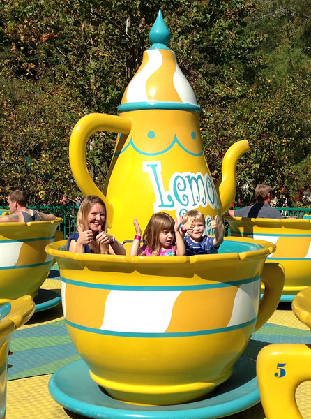 Theirs was the S-L-O-W teacup!