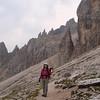 To Passo-Jouf Zigolade ; Le Cororelle ,Tschager Spitze 2797m