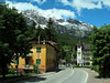 Entering Cortina d'Empezzo, Italy, looking generally north.