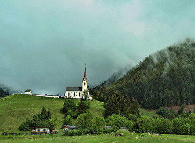 Chapel near Lienz, Austria, May 28, 2011