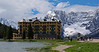 Lake Misurina, Italy, looking west. The sweet air around the lake has not gone unnoticed-the Italian national center for treatment of childhood asthma is located here.