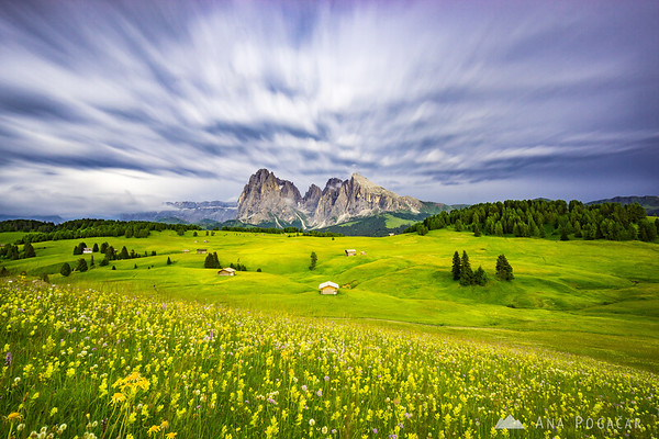 Stormy afternoon at Alpe di Siusi
