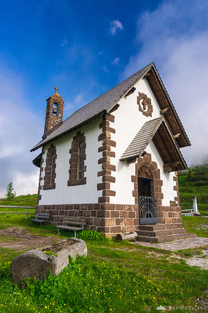 Chapel at Passo Rolle