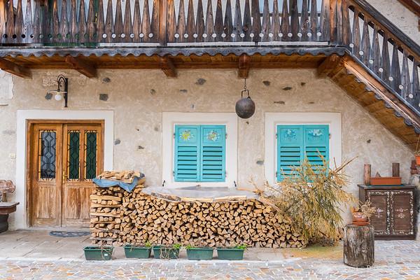 Village of Colle Santa Lucia