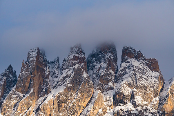 The Odle range above Val di Funes