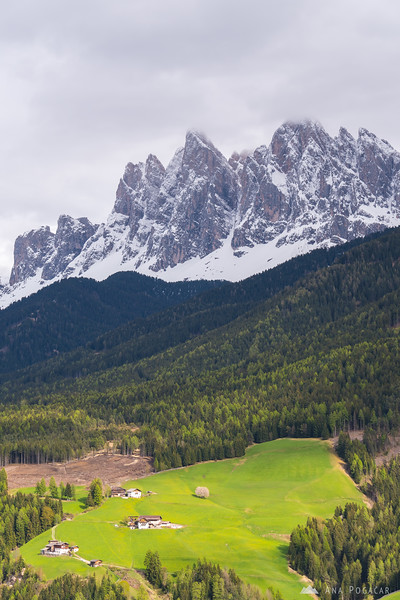 Val di Funes and the Odle range