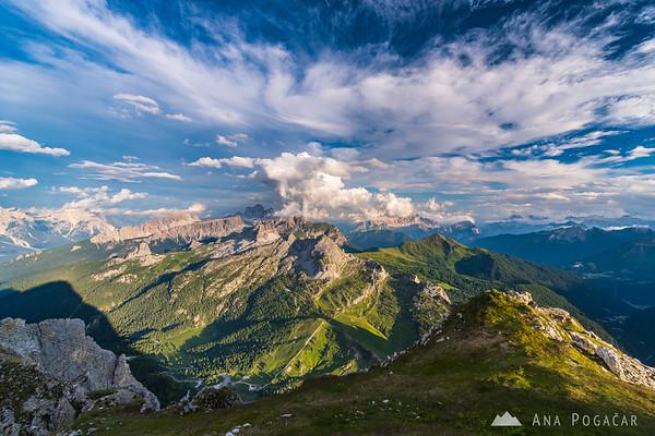 Views from Rifugio Lagazuoi