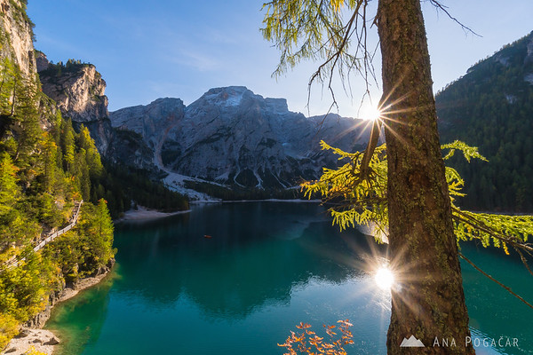 Hiking around Lago di Braies