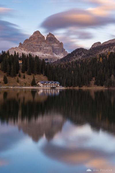 Beautiful afternoon at Lago di Misurina