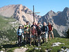 Our group consist of 2 Japanes, 6 American and 2 German mountain guides