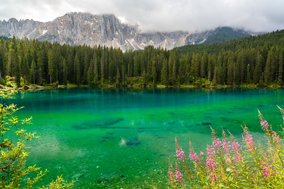 Lake Carezza, Dolomites, Italy, 2014