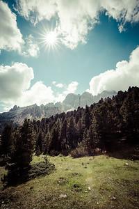 Val de Vaiolét, Dolomites, Italy