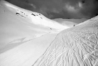 Ciampac ski area, Val di Fassa, Dolomites, Italy, 2014