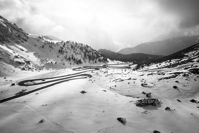 Passo Pordoi, Dolomites, Italy, 2016
