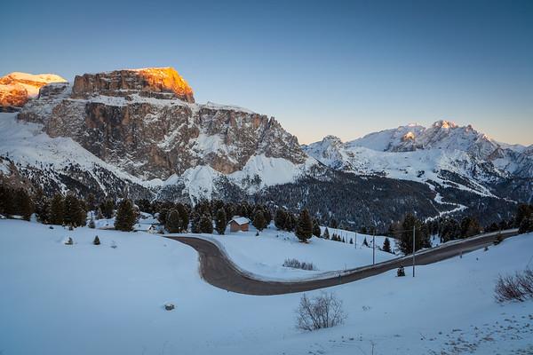 Passo Sella, Val di Fassa, Dolomites, Italy, 2012