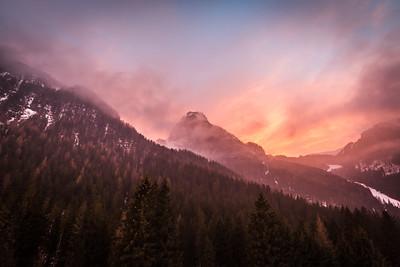 Penia, Val di Fassa, Dolomites, Italy, 2017